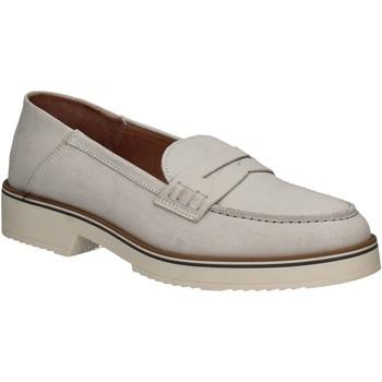 Schoenen Dames Mocassins Mally 5876 Zilver