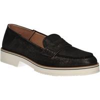 Schoenen Dames Mocassins Mally 5876 Zwart