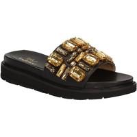 Schoenen Dames Slippers Byblos Blu 672102 Zwart