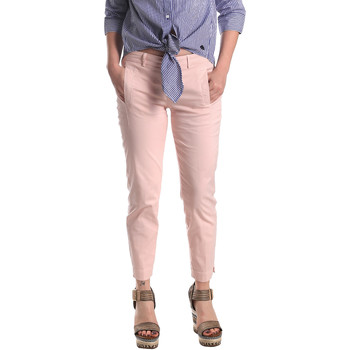 Textiel Dames Chino's Fornarina BE171L74G291C5 Roze