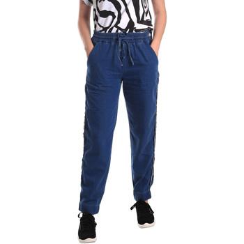 Textiel Dames Straight jeans Fornarina BE171L93D883SK Blauw