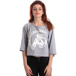 Textiel Dames Sweaters / Sweatshirts Fornarina BE176841F42706 Grijs
