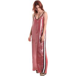 Textiel Dames Lange jurken Fornarina BE178D61CA05E9 Roze