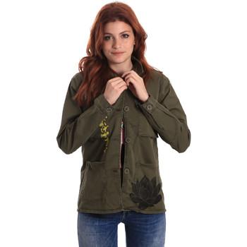 Textiel Dames Overhemden Fornarina SE173C28G29231 Groen