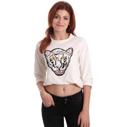 Textiel Dames Sweaters / Sweatshirts Fornarina SE176844F42709 Wit