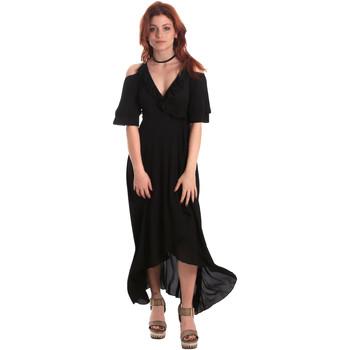 Textiel Dames Lange jurken Fornarina SE178D69CA2000 Zwart