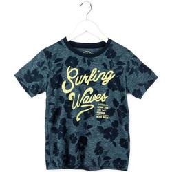 Textiel Jongens T-shirts korte mouwen Losan 713 1009AA Blauw