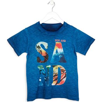 Textiel Jongens T-shirts korte mouwen Losan 713 1023AA Blauw