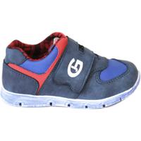 Schoenen Jongens Lage sneakers Grunland PP0157 Blauw