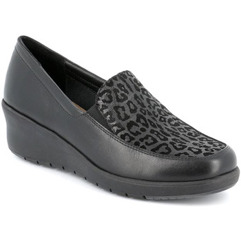 Schoenen Dames Mocassins Grunland SC4778 Zwart