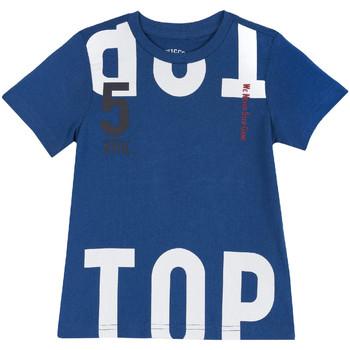 Textiel Kinderen T-shirts korte mouwen Chicco 09006586000000 Blauw