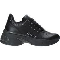 Schoenen Dames Lage sneakers Onyx W19-SOX513 Zwart