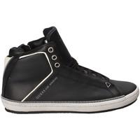 Schoenen Heren Hoge sneakers Guess FMMID4 LEA12 Zwart