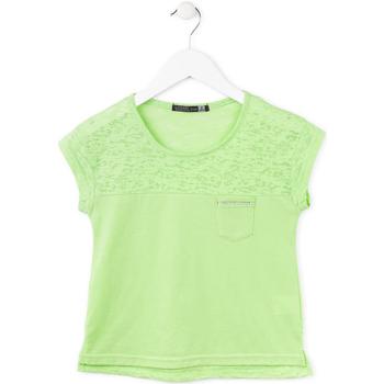 Textiel Meisjes T-shirts korte mouwen Losan 714 1013AB Groen