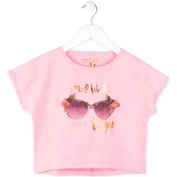 Textiel Meisjes T-shirts korte mouwen Losan 714 1200AB Roze