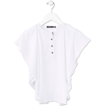 Textiel Meisjes Tops / Blousjes Losan 714 3002AB Wit