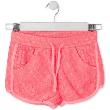 Textiel Kinderen Korte broeken / Bermuda's Losan 714 6021AB Roze