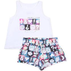 Textiel Meisjes Setjes Losan 714 8000AB Wit