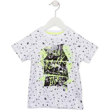 Textiel Kinderen T-shirts korte mouwen Losan 715 1008AC Wit