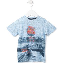 Textiel Jongens T-shirts korte mouwen Losan 715 1018AC Blauw