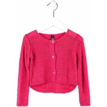 Textiel Meisjes Vesten / Cardigans Losan 716 5000AD Roze
