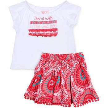 Textiel Meisjes Setjes Losan 716 8010AD Wit