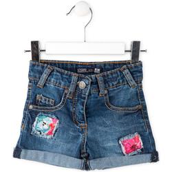 Textiel Kinderen Korte broeken / Bermuda's Losan 716 9002AD Blauw