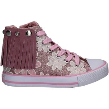 Schoenen Meisjes Hoge sneakers Lulu LV010072S Rose