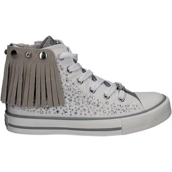 Schoenen Meisjes Hoge sneakers Lulu LV010072S Blanc
