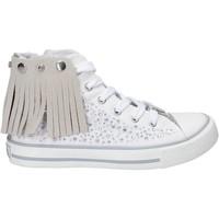 Schoenen Meisjes Hoge sneakers Lulu LV010074T Blanc