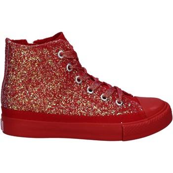 Schoenen Meisjes Hoge sneakers Lulu LV010077S Rood
