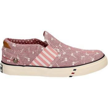 Schoenen Meisjes Instappers Wrangler WG17121 Roze