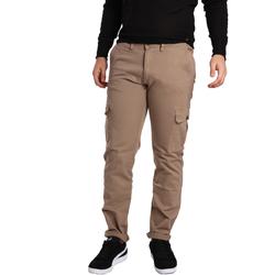 Textiel Heren Cargobroek Gaudi 721BU25019 Beige