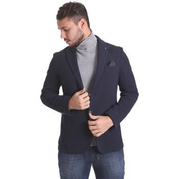 Textiel Heren Jasjes / Blazers Sei3sei PZG9 7291 Blauw