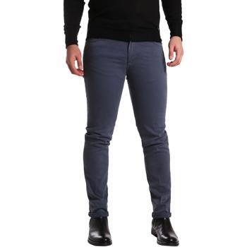 Textiel Heren 5 zakken broeken Sei3sei PZV16 7239 Blauw