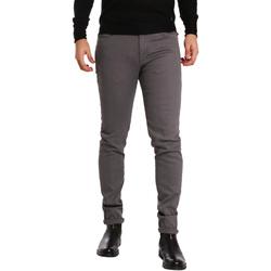 Textiel Heren 5 zakken broeken Sei3sei PZV17 7257 Grijs