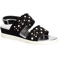 Schoenen Dames Sandalen / Open schoenen Keys 5915 Noir