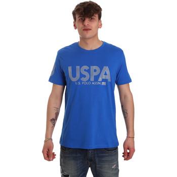 Textiel Heren T-shirts korte mouwen U.S Polo Assn. 57197 49351 Blauw