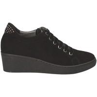 Schoenen Dames Lage sneakers Grunland SC3524 Zwart