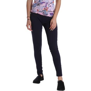 Textiel Dames Leggings Key Up 095F 0001 Blauw