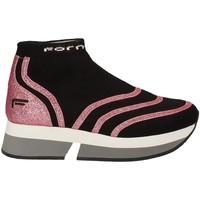Schoenen Dames Hoge sneakers Fornarina PI18SL1077J066 Zwart