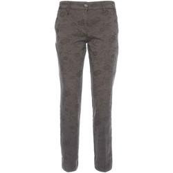 Textiel Dames Chino's NeroGiardini A760010D Zwart