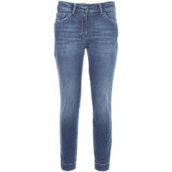 Textiel Dames Skinny jeans Nero Giardini A760110D Blauw