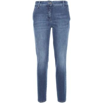 Textiel Dames Skinny jeans NeroGiardini A760120D Blauw