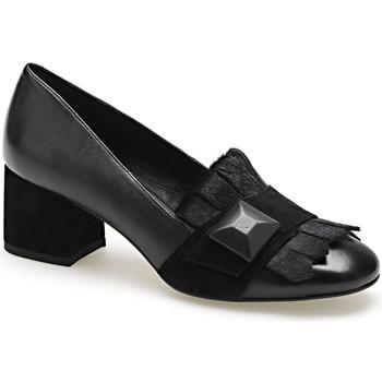 Schoenen Dames Mocassins Apepazza ADY02 Zwart