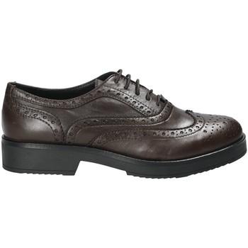 Schoenen Dames Derby Mally 4704S Bruin