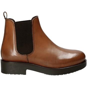 Schoenen Dames Enkellaarzen Mally 5535J Bruin