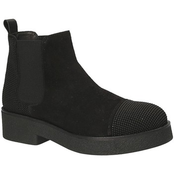 Schoenen Dames Enkellaarzen Mally 5536 Zwart
