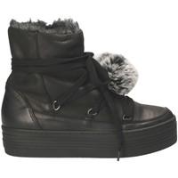 Schoenen Dames Snowboots Mally 5991 Zwart
