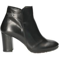 Schoenen Dames Enkellaarzen Mally 5017S Zwart